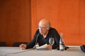 Pascal Quignard dans les salons de Mollat - avril 2013