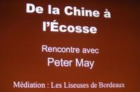 """""""De la Chine à l'Ecosse"""", rencontre avec Peter May, Lire en Poche 2014"""
