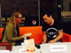 Entretien avec Joseph Boyden, Lettres du Monde 2014