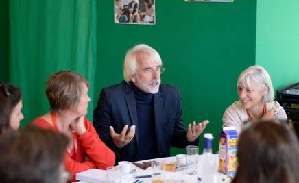 Petit-déjeuner avec Philippe Delerm, Lire en Poche 2016