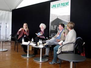 Rencontre avec Pef et Jean-Paul Didierlaurent, Lire en Poche 2015