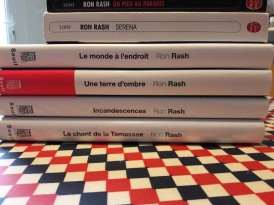 La préparation de la rencontre avec Ron Rash, Lettres du Monde 2016