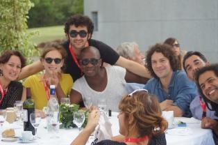 Omar Youssef Souleimane, Wilfried N'Sondé, Pierre Ducrozet, Víctor del Árbol, Julien Delmaire et Cécile Reyboz