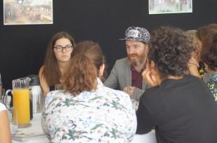 Petit-déjeuner avec Mathias Malzieu, Lire en Poche 2018