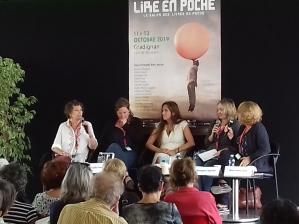 Gaëlle Josse, Emmanuelle Favier et Frédérique Deghelt, Lire en Poche 2019